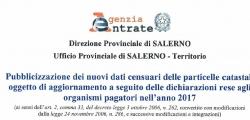 PUBBLICIZZAZIONE DEGLI ELENCHI DI PARTICELLE OGGETTO DI VARIAZIONI COLTURALI AI SENSI DELL'ART 2, COMMA 33, DEL DECRETO-LEGGE 3 OTTOBRE 2006, N 262